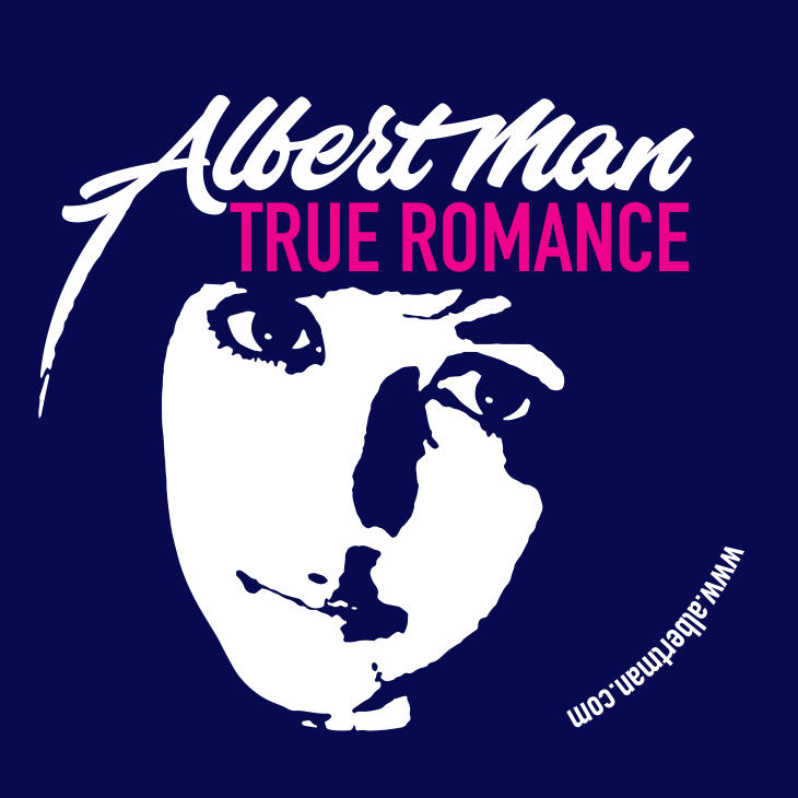 True Romance merchandise artwork - face